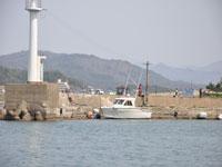 浅茂川の防波堤